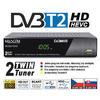MC820T2HD TwinTuner přijímač DVB-T2 HEVC, ovladač TV CONTROL