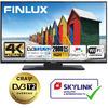 Finlux TVF58FUF7161 - HDR,UHD, T2 SAT,  HBB TV, WIFI, SKYLINK LIVE
