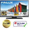 Finlux TVF55FUF7161 - HDR,UHD, T2 SAT,  HBB TV, WIFI, SKYLINK LIVE
