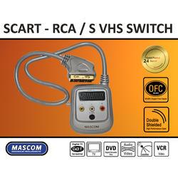 Přepínač SCART - 3CINCH /SVHS  - 1