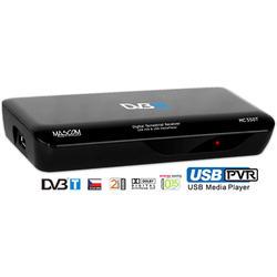 MC550T Přijímač DVB-T, USB PVR a MediaPlayer  - 1