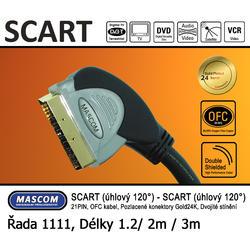 Scart 120°  - Scart 120° (úhlový) 3m  - 1
