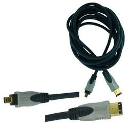 6061-015 Firewire kabel 4PIN - 6PIN 1,5m