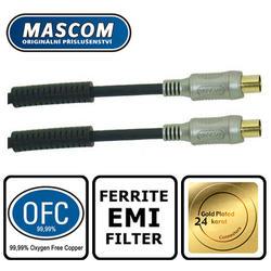 Anténní účastnický kabel 7.5m, EMI filtry, HDTV.  - 1