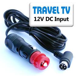 Napáj. kabel 12V DC-Autozásuvka (TV Finlux), 2m  - 1