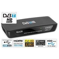 MC650T HD Přijímač DVB-T, USB PVR a MediaPlayer  - 1