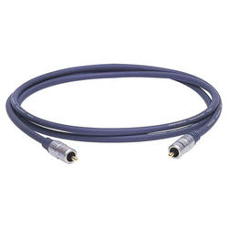 RCA - RCA 1,5m Video Interconnect 24k Gold-plated contacts, 99,96% OFC conduktor for high resolution pisture guality, IAT interferencc absorbers