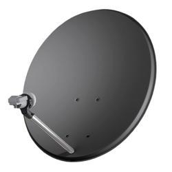 OP 80 ALU - Satelitní anténa antracit hliník bez potisku Code: 15005019  - 1