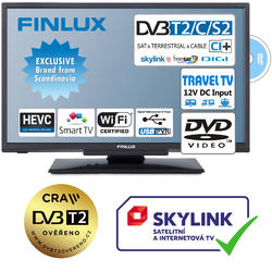 Finlux TV24FDM5660-T2 SAT DVD SMART WIFI 12V-  - 1
