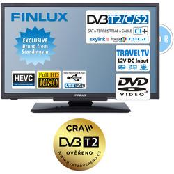 Finlux TV22FDMA4760 -T2 SAT DVD 12V-  - 1