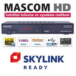 MC2350 HD sat.přijímač,USB PVR, Skylink Ready Irdeto  - 1