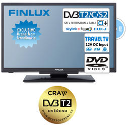 Finlux TV20FDMB4760 -T2 SAT DVD 12V-  - 1