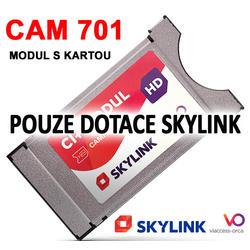 Pouze pro DOTACI-SKYLINK, CAM-701 s kartou