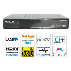 MC4300 SMART HD sat, CI+, HBB TV, Facebook, FastScan