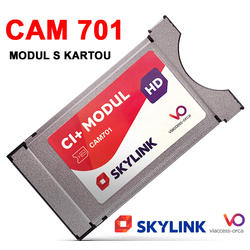 Skylink CAM-701 s kartou k TV se SAT tunerem a MC4300HDCI  - 1