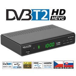 MC750T2 HD Přijímač DVB-T2 HEVC, USB PVR a MediaPlayer  - 1