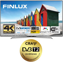 Finlux TV43FUC8060 -  HDR UHD T2 SAT HBBTV WIFI -  - 1