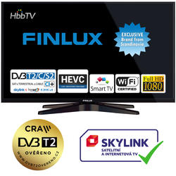 Finlux TV32FFC5760 - ULTRATENKÁ, FHD, SAT, WIFI, SKYLINK LIVE  - 1