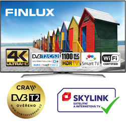 Finlux TV49FUC8160 -  HDR UHD T2 SAT WIFI SKYLINK LIVE  - 1