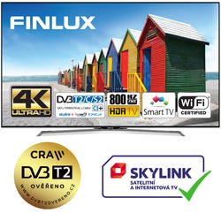 Finlux TV43FUC8160 -  HDR UHD T2 SAT HBBTV WIFI SKYLINK LIVE-  - 1