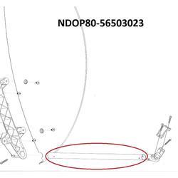 Tyč přední kruhová, nosník LNB OP80