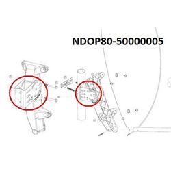 Kovový profil na plastový držák OP80