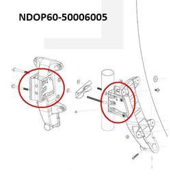 Kovový profil na plastový držák OP60