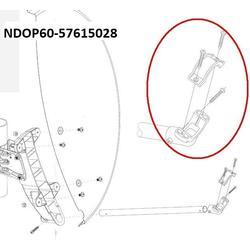 Plastový držák LNB na tyčku pro OP60