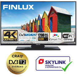 Finlux TV55FUD7060 - UHD SAT/T2 SMART WIFI SKYLINK LIVE-