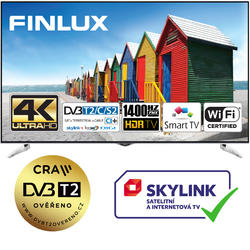 Finlux TV65FUE8160 - HDR UHD T2 SAT WIFI SKYLINK LIVE  - 1