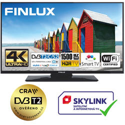 Finlux TV55FUD7061 - UHD SAT/T2 SMART WIFI SKYLINK LIVE-  - 1