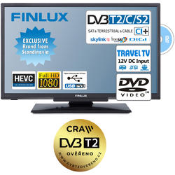 Finlux TV22FDMF4760 -T2 SAT DVD 12V-  - 1