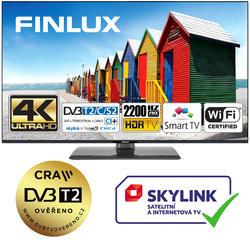 Finlux TV50FUF8260 -  HDR UHD T2 SAT WIFI SKYLINK LIVE BEZRÁMOVÁ-  - 1