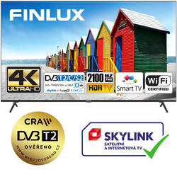 Finlux TVF65FUF8260 - HDR UHD T2 SAT WIFI SKYLINK LIVE  - 1