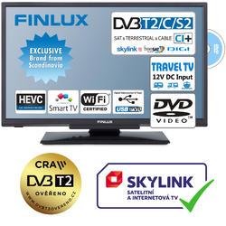 Finlux TV24FDM5760-T2 SAT DVD SMART WIFI 12V-  - 1
