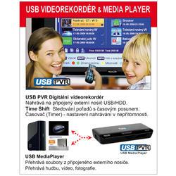MC550T Přijímač DVB-T, USB PVR a MediaPlayer  - 2