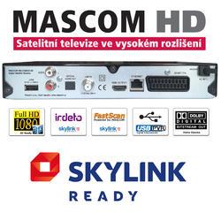 MC2350 HD sat.přijímač,USB PVR, Skylink Ready Irdeto  - 2