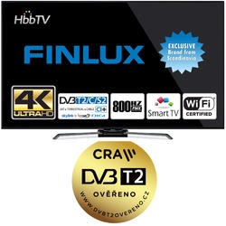 Finlux TV43FUB8061 - UHD SAT/T2 SMART WIFI  - 2