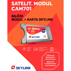 Skylink CAM-701 s kartou k TV se SAT tunerem a MC4300HDCI  - 2
