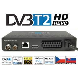 MC750T2 HD Přijímač DVB-T2 HEVC, USB PVR a MediaPlayer  - 2