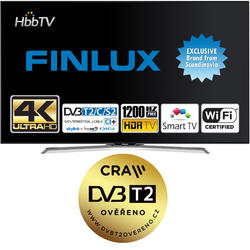 Finlux TV55FUC8160 -  HDR UHD T2 SAT WIFI SKYLINK LIVE  - 2
