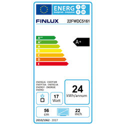 Finlux TV22FWDC5161 - T2 SAT DVD SMART HBBtv-  - 2