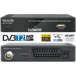 MC710T2HD Přijímač DVB-T2 HEVC, USB  - 2