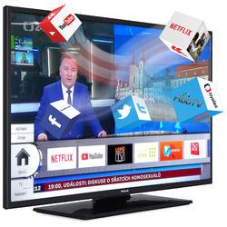 Finlux TVF58FUF7161 - HDR,UHD, T2 SAT,  HBB TV, WIFI, SKYLINK LIVE  - 2