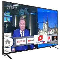 Finlux TVF65FUF7161 - HDR,UHD, T2 SAT,  HBB TV, WIFI, SKYLINK LIVE  - 2