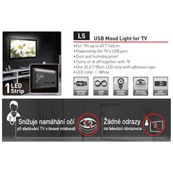 USB LED osvětlení pro televizory  - 3