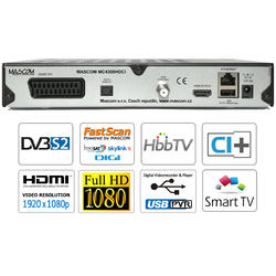 MC4300 SMART HD sat, CI+, HBB TV, Facebook, YouTube, FastScan  - 3