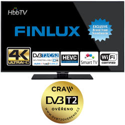 Finlux TV50FUB8060 - UHD SAT/T2 SMART WIFI  - 3
