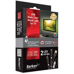 USB LED osvětlení pro televizory, barevné  - 3