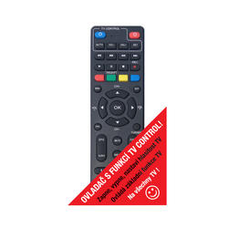 MC820T2HD TwinTuner přijímač DVB-T2 HEVC, ovladač TV CONTROL  - 3